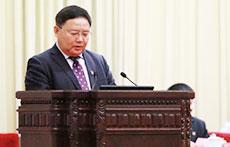 津桥国际董事长赵鹏在国际教育高峰论坛人民大会堂演讲;