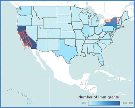 中国移民者为何扎堆移居美国加州?