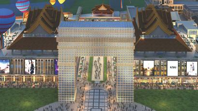 柬埔寨金边TF黄金商铺