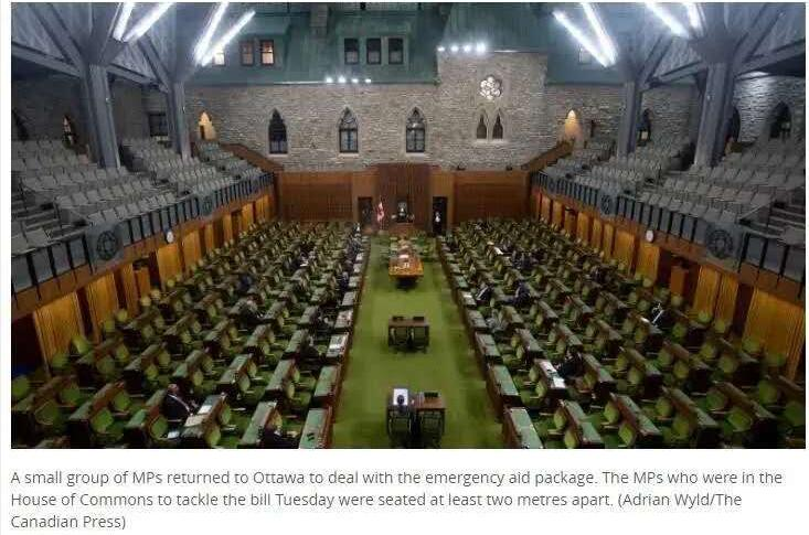 重磅   加拿大疫情援助计划暴增至$1070亿【马丽】