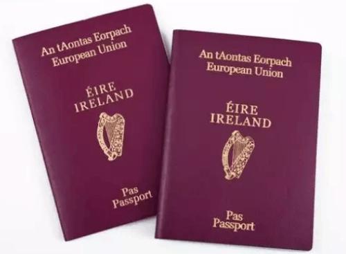 爱尔兰投资移民护照