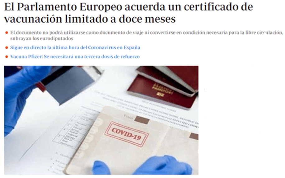 """欧洲议会批准""""欧盟新冠证书"""",今夏有望跨国旅行!"""