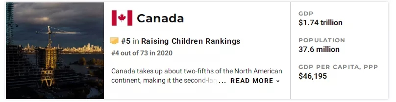 加拿大生娃、育娃福利知多少?